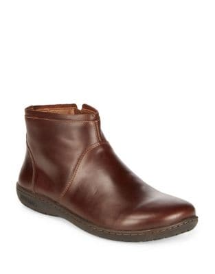 Bennington Leather Booties by Birkenstock