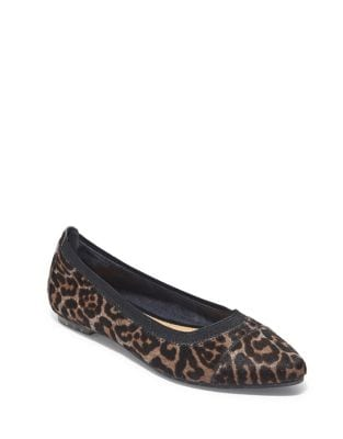 Arianna Calf Hair Flats by Me Too