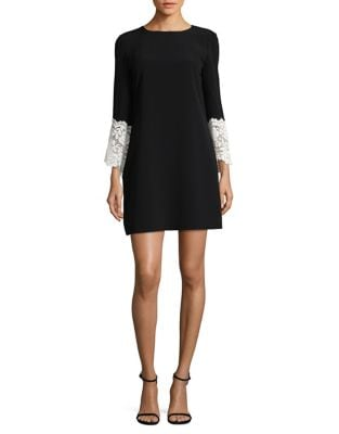 Long-Sleeve Shift Dress by Tahari Arthur S. Levine