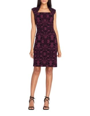Cap Sleeve Sheath Dress by Tahari Arthur S. Levine