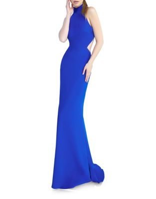 Halter Long Gown by Mac Duggal