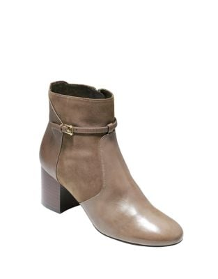 Paulina Leather Boots by Cole Haan