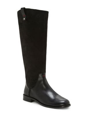 Zoila Knee-High Leather Boots by Ed Ellen Degeneres