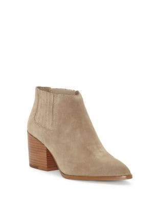 Jemore Suede Booties by 1.STATE