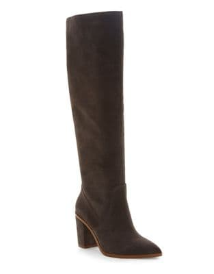 Paiton Knee-High Suede Boots by 1.STATE