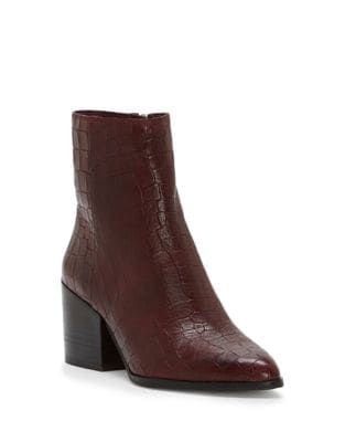 Jahmil Leather Booties by 1.STATE