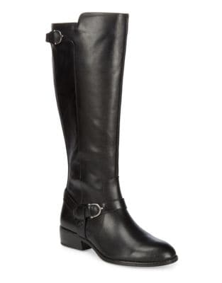 Margarite Leather Boots by Lauren Ralph Lauren