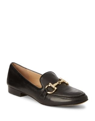 Leather Loafers with Buckle by Karl Lagerfeld Paris