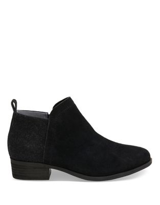 Deia Suede Booties by TOMS