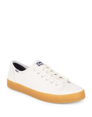Kickstart Leather Low Top Sneakers by Keds
