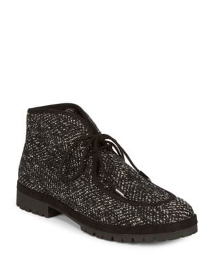 Demi Tweed Chukka Boots by Avec Les Filles