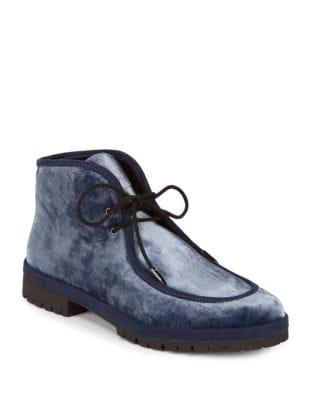 Demi Velvet Chukka Boots...