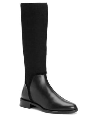 Nicolette Stretch Leather Boots by Aquatalia