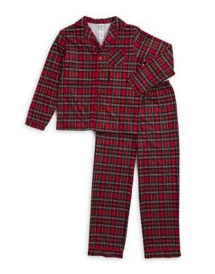 Boys Plaid Pajamas