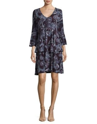Paisley Shift Dress by Ivanka Trump