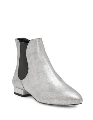 Meezzy Suede Booties by Enzo Angiolini