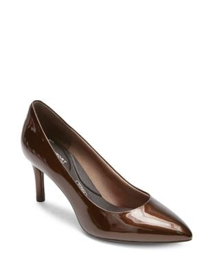 Total Motion Leather Pumps by Rockport