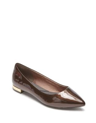 Total Motion Adelyn Leather Flats by Rockport