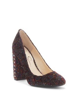 Bainer Velvet Pumps by Jessica Simpson