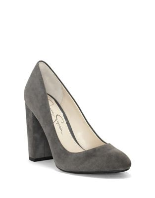 Belemo Suede Pumps by Jessica Simpson