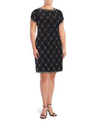 Plus Classic Dress by Betsy & Adam