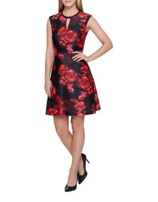 Fit and Flare Floral Dress by Tommy Hilfiger