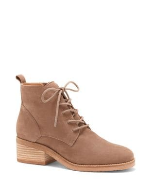 Tamela Leather Booties by Lucky Brand