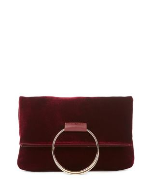 Velvet Top Handle Bag 500087572567