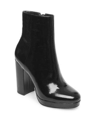 Feris Patent Booties by Design Lab Lord & Taylor