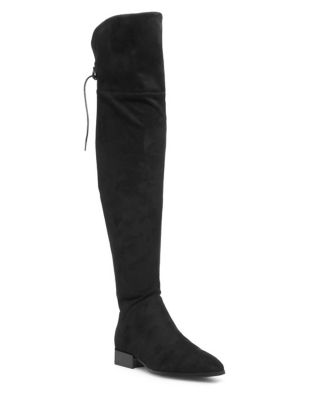 Gabry Suede Over-The-Knee Boots by Design Lab Lord & Taylor