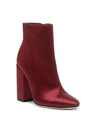 Windee Satin Booties by Jessica Simpson