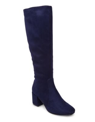 Classic Microfiber Knee-High Boots by Design Lab Lord & Taylor