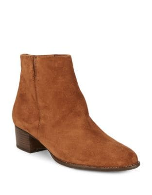 North Suede Booties by Paul Green