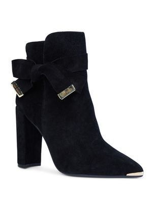 Sailly Suede Booties by Ted Baker London