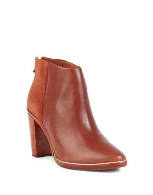 Azaila Leather Booties by Ted Baker London