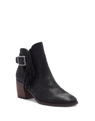Makenna Suede Booties by Lucky Brand