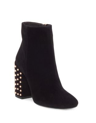 Wexton Suede Booties by Jessica Simpson