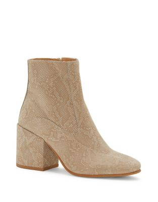 Rainns Exotic Leather Booties by Lucky Brand