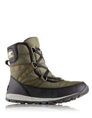 Whitney Short Lace Boots by Sorel