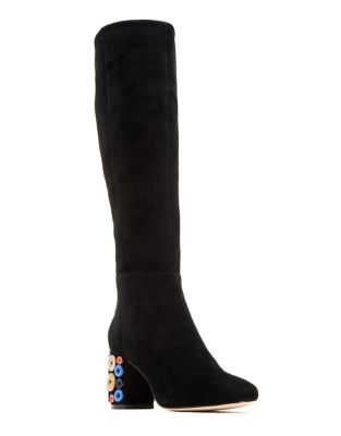 Saari Knee-High Suede Boots by Katy Perry