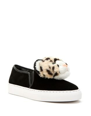 Lusella Faux Fur Sneakers by Katy Perry
