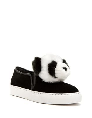 Joy Faux Fur Sneakers by Katy Perry