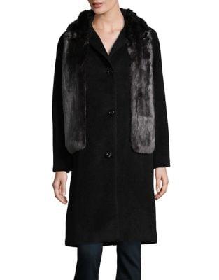 Faux Fur Stole Jacket...