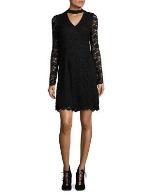 Choker Lace Dress by Karl Lagerfeld Paris