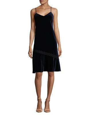 Velvet Midnight Slip Dress by Karl Lagerfeld Paris