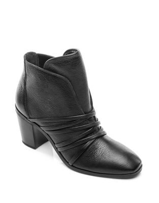 Felicity Leather Booties by Bernardo