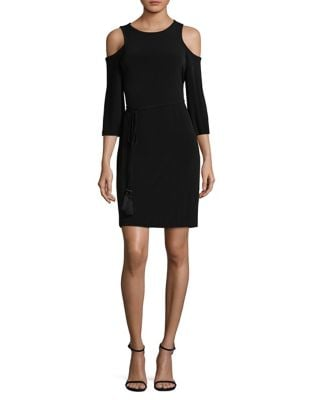 Bell Sleeve Midi Dress by Calvin Klein