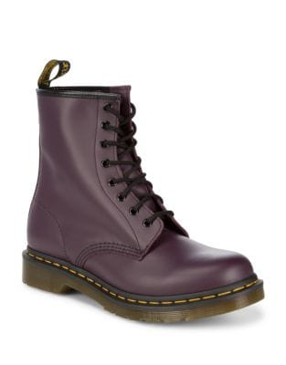 Originals Smooth Leather Boots by Dr. Martens