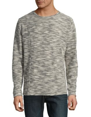 Textured Crewneck Sweater...