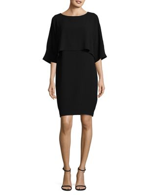 Draped Blouson Sheath Dress by Adrianna Papell